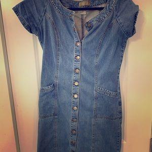 Vintage looking jean dress